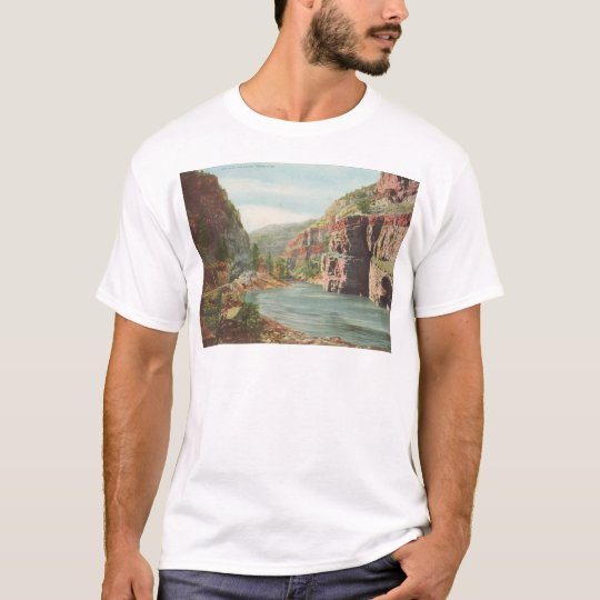 Walls of the Canon, Grand River (Canyon) T-Shirt