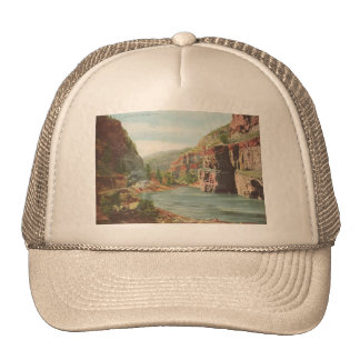 Walls of the Canon, Grand River (Canyon) Trucker Hat