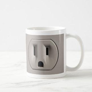 Wallsocket Classic White Coffee Mug