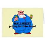 Wallstreet divertido felicitación