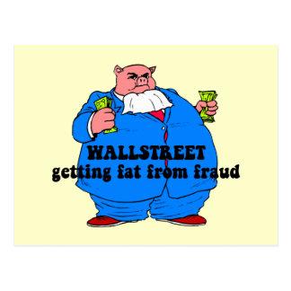 Wallstreet divertido postales