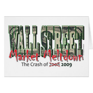 WallStreet Market Meltdown Card