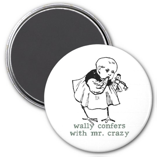 Wally and Mr. Crazy Magnet
