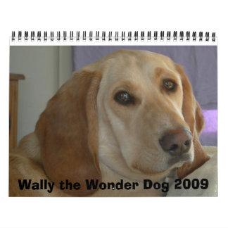 Wally el perro 2009 de la maravilla calendarios