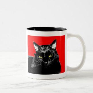Wally In Red Two-Tone Coffee Mug