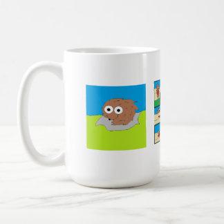 Wally la taza de café de la comadreja