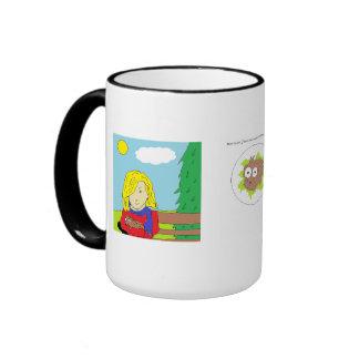 Wally la taza de café de la comadreja 2