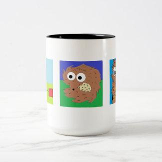 Wally la taza de café de la comadreja 3