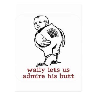 Wally s Butt Postcard