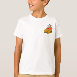 Wally The Walrus Goes Swimming T-Shirt