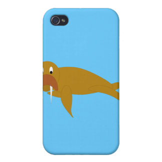 Wally the Walrus Cases For iPhone 4