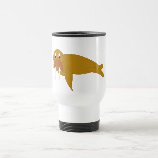 Wally the Walrus Travel Mug
