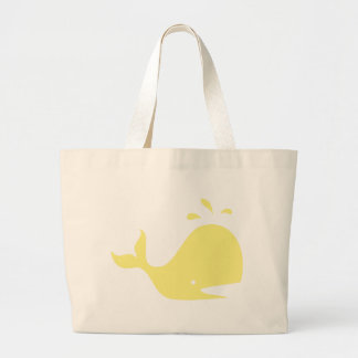 Wally the whale tote bag