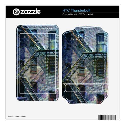 Wallz de Nyc Shadaw HTC Thunderbolt Calcomanías