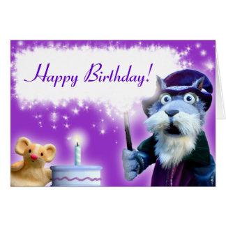 Walnut and Friends Birthday Card