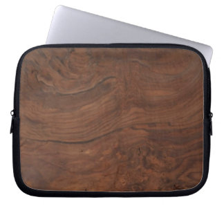 Walnut Burl Laptop Sleeve