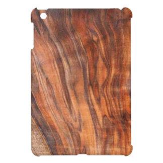 Walnut (Faux) Wood Grain iPad Mini case