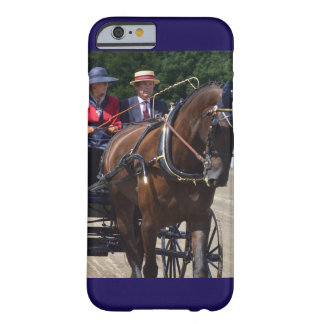 walnut hill carriage driving horse show barely there iPhone 6 case