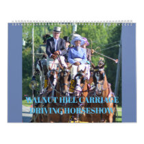 Walnut Hill Carriage Driving Horse Show Calendar