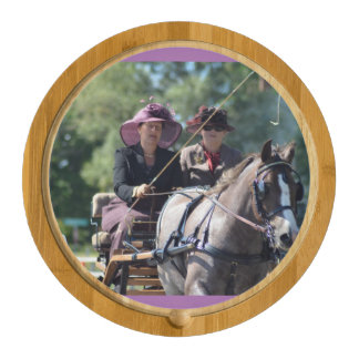 walnut hill carriage driving horse show cheese platter