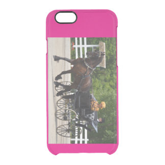 walnut hill carriage driving horse show clear iPhone 6/6S case