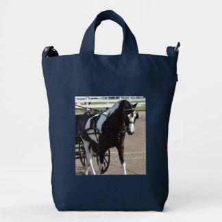 walnut hill carriage driving horse show duck bag