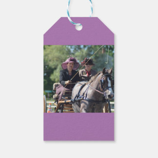walnut hill carriage driving horse show gift tags