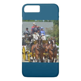 walnut hill carriage driving horse show iPhone 8 plus/7 plus case