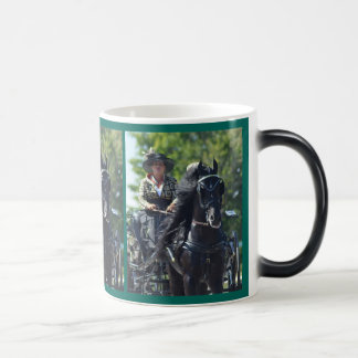 walnut hill carriage driving horse show magic mug