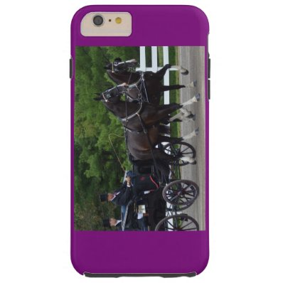 walnut hill carriage driving horse show tough iPhone 6 plus case