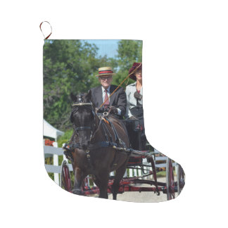 Walnut Hill Carriage Driving Show 2015 Large Christmas Stocking