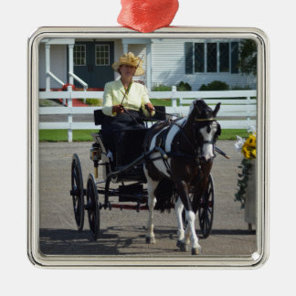 Walnut Hill Carriage Driving Show 2015 Metal Ornament