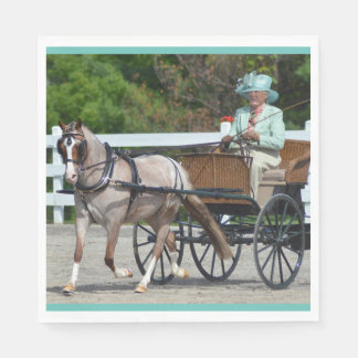 Walnut Hill Carriage Driving Show 2015 Paper Napkin