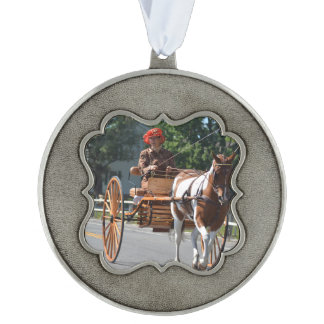Walnut Hill Carriage Driving Show 2015 Pewter Ornament
