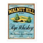 Walnut Hill Rye Whiskey Postcard