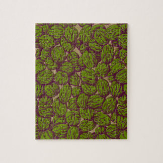 Walnut Pattern Jigsaw Puzzle