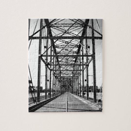 WALNUT STREET BRIDGE - CHATTANOOGA, TN JIGSAW PUZZLE