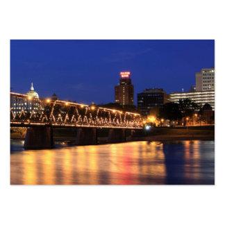 Walnut Street Bridge Harrisburg Pennsylvania Large Business Cards (Pack Of 100)