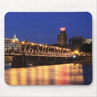 Walnut Street Bridge Harrisburg Pennsylvania Mouse Pad