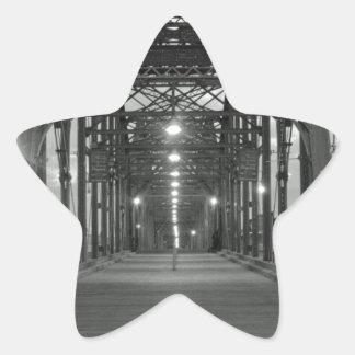 Walnut Street Bridge Star Sticker