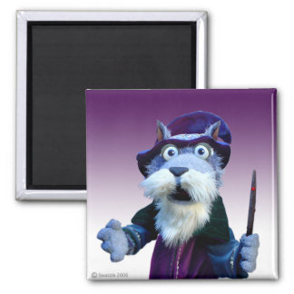 Walnut the Wizard Magnet
