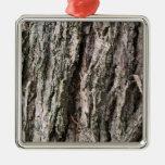 Walnut tree bark ornament