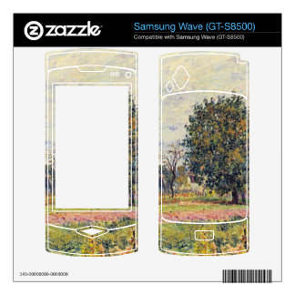 Walnut trees in the sun, in early October - Sisley Samsung Wave Decal