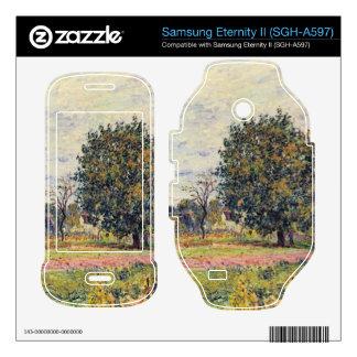 Walnut trees in the sun in early October - Sisley Samsung Eternity II Decal
