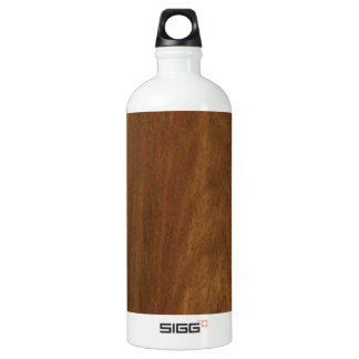 WALNUT WOOD American finish  blank blanche + TEXT SIGG Traveler 1.0L Water Bottle