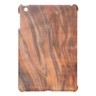 Walnut (wood)grain iPad case