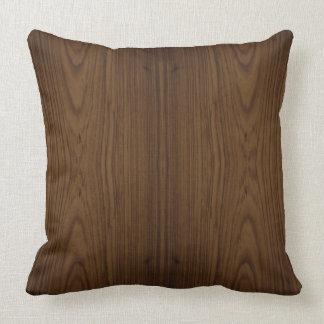 Walnut Wood Grain Pillow
