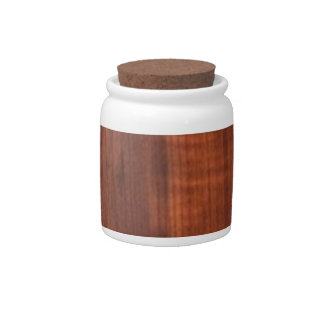 WALNUT WOOD WODDEN FINISH GIFTS CANDY JARS