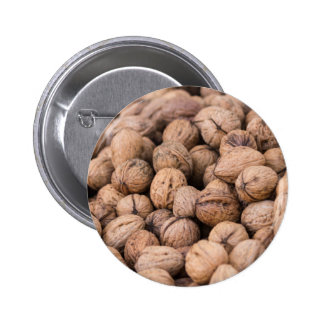 walnuts background pinback button