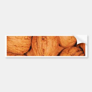 walnuts bumper sticker